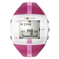 POLAR FT4F HEART RATE MONITOR WATCH Ladies PURPLE/PINK NEW +CHEST STRAP FT4 FT4M