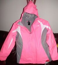 North Face Girls Mountain Triclimate Jacket NEW Gem Pink Size XL 18 Youth