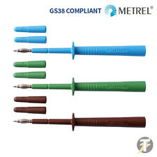 Metrel MLP3 Electrical Test Lead Probes PLUS Spare Shrouds