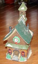 North Pole Chapel (Dept 56, 5626-0) 1993 Heritage Holiday Village, Porcelain
