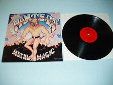 """PANTERA Metal Magic 12"""" vinyl album LP US Hard Rock Metal Private press NWOBHM"""