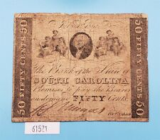 WPC ~ Bank of The State of South Carolina, 50 Cent Note, 1 July 1861, SH437