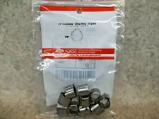 """ZURN 3/8"""" Quick Clamp Crimp Ring 10 pack QCLP2XNPK10"""