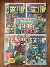 Sgt Fury and His Howling Commandos (Lot Of 5) #145/156/160/162/164