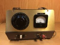 Vintage Homemade Variac AC DC Variable Power Supply Test Equipment 200B General