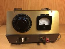 Vintage Homemade Variac AC DC Variable Power Supply Test Equipment 200B General