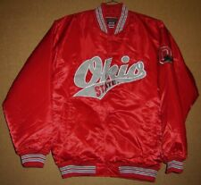 Ohio State Buckeyes Snap Front Jacket