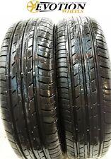 1556514 YOKOHAMA 155 65 14 75T BLUEARTH Used Part Worn 6mm x 2 Tyres
