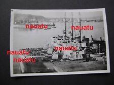 492# Foto Kriegsmarine Schiff 1. Minensuchflottille in Frankreich Normandie