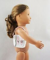 Pink & White Bag Purse Handbag Fit For 18'' American Girl Dolls Clothes Gifts