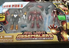 Marvel Universe Assemblers IRON MAN ARCLIGHT 3 pack,  red snapper variant MIB!!!