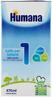 HUMANA 1 LATTE LIQUIDO 470ML NATCARE MP