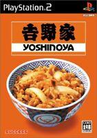 USED PS2 PlayStation2 Yoshinoya 03618 JAPAN IMPORT