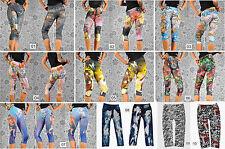 Capri Damen-Leggings keine Mehrstückpackung