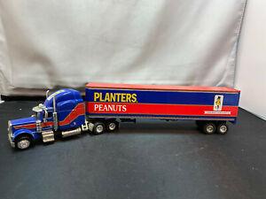Liberty Classics Spec Cast Planters Peanuts Tractor Truck w Trailer Diecast Bank