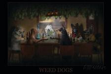 Weed Dogs - Pot Marijuana Poster Print, 36x24