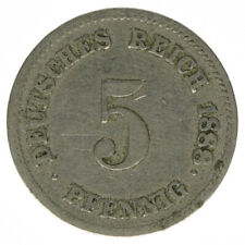 Deutsches Reich 5 Pfennig 1888 G A50250