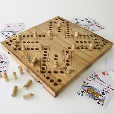 Grand jeu de TOC - TOCK De 2 à 4 joueurs, jeux de société en bois 30x30 cm CE