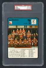PSA 8 The USSR Sportscaster Hockey Card #07-08 JAPAN