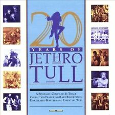 20 Years of Jethro Tull: Radio Archives Rare Tracks (CD, BMG, Chrysalis Records)