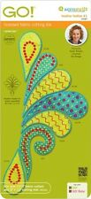 AccuQuilt GO Fabric Cutter Cutting Die Heather Feather #1 by Sarah Vedeler 55087