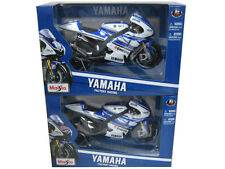 MAISTO YAMAHA 2012 GP SPIDES & LORENZ 2PC MOTORCYCLE SET 1/10 DIECAST  31402
