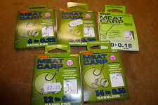 MIDDY TACKLE HOOKS to NYLON ,lassoo,paste ,meat,carp hair,pellet. quickstop