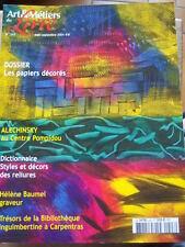 REVUE ART & MÉTIERS DU LIVRE 2004 No 243 ALECHINSKY GRAVURES BAUMEL CARPENTRAS