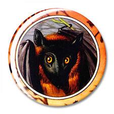 FLYING FOX BAT Round Fridge Magnet, 2.25 inches - NEW!