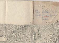 cartina alpina -ceresole reale gran paradiso gro -1:25.000 - in tessuto telato -