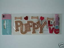 Jolee's Boutique Title Waves Stickers - Puppy Love Dog