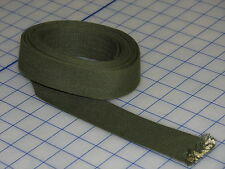 """cotton duck strap webbing jerry can USA made 1 1/2"""" 10 FT dated 66 od 7 wrpmrt"""