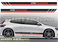 VW Volkswagen Scirocco racing stripes 007 stickers decals graphics
