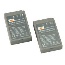 DSTE 2pcs BLS-5 Rechargeable Li-ion Battery for Olympus PS-BLS5, OM-D E-M10, PEN