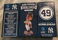 RON GUIDRY #49 New York Yankees Bobblehead 6/14/18 SGA NY NIB Bobble Head 18,000