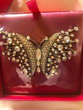 Butler and Wilson Butterfly Brooch BNIB (Sealed) 337745 LJJ 00