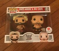 Funko Pop WWE Wrestling Enzo Amore & Big Cass Exclusive Vinyl Figure 2-Pack