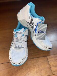 ASICS Gel Phoenix Duomax Women's Running  Shoes White Teal Gray Size 9 T273N