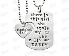 Father Daughter Stole My Heart Calls Me Daddy's Little Girl Necklace New Free