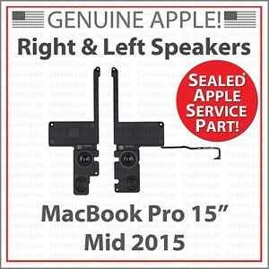 """Sealed Apple 923-00534 Left & Right Speaker Kit for MacBook Pro 15"""" Mid 2015"""