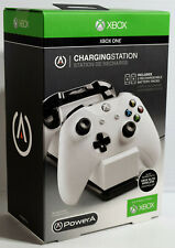 NEW SEALED PowerA (Power A) Charging Station for 2 Xbox One Controllers - White