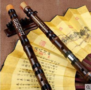Full Set CDEFG Key - 5 Chinese Bamboo Flute/dizi + flute glue+ dimo+flute bag