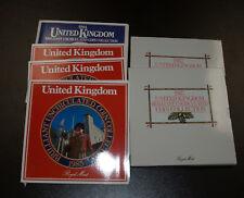 Six (6) Great Britain 8 Piece Mint Ses - 1984, 1985 (3), 1987 (2)