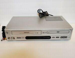 Daewoo 6 Head DVD VCR Combo Player VHS Recorder DV6T834B Stereo MP3 NO REMOTE
