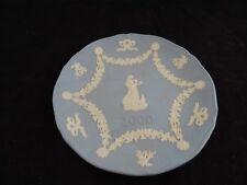 Wedgwood Blue and White Jasperware Hebe & Eagle 2000 Year Plate England