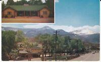 "Colorado Springs CO ""The Yucca Lane Lodge"" 1955 Postcard Colorado * FREE US SHIP"