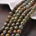 30pcs 8mm Round Natural Stone Loose Gemstone Beads Sparrow Jasper