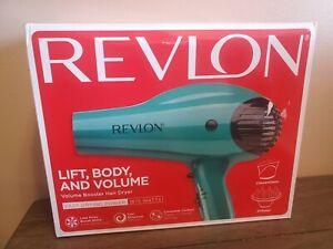Revlon Professional Ionic Hair Blow Dryer Blower 1875W Volume Boost w/ Diffuser