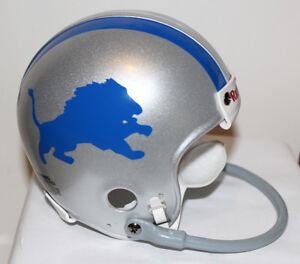 1967 Lem Barney Detroit Lions Custom TB  Riddell Mini Helmet w/ 1 Bar