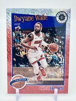 Dwyane Wade 2019-20 Hoops Premium Asia Tribute Red Shimmer Prizm /88 Miami Heat